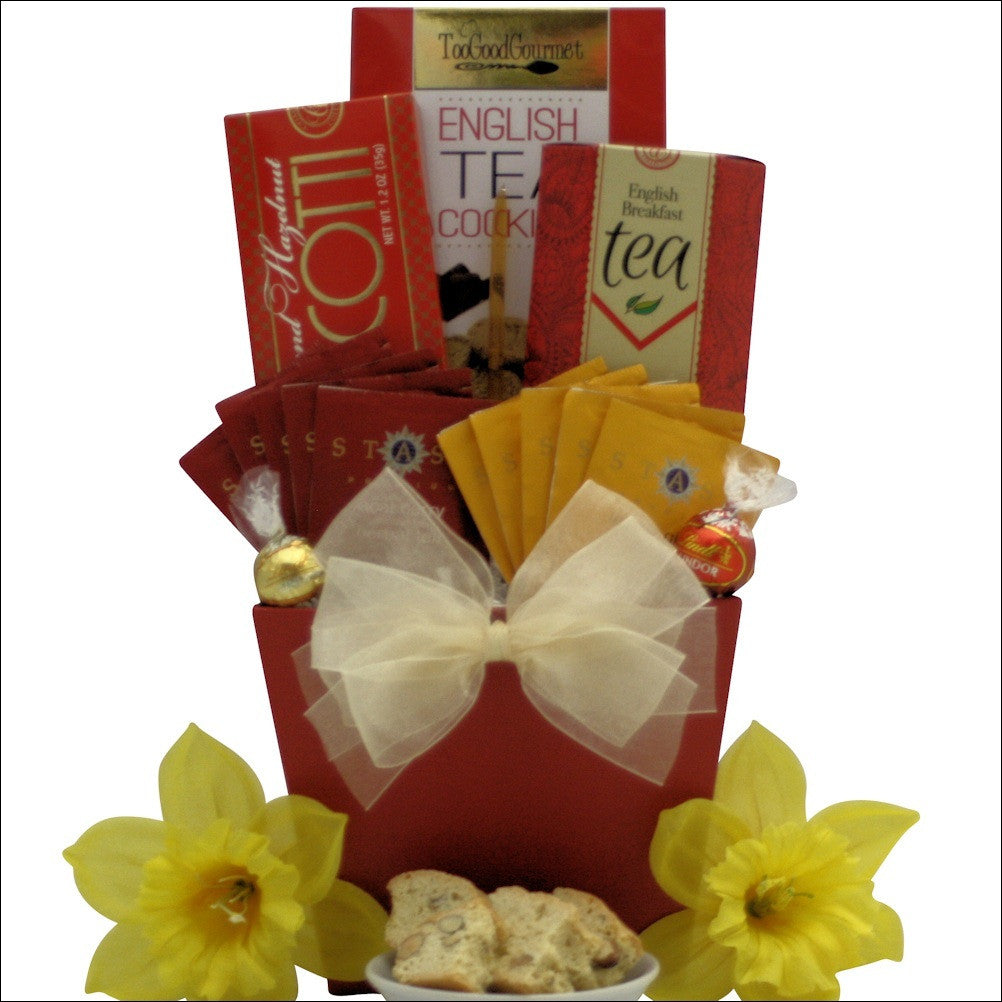 Tea Delights: Gourmet Tea Gift Basket