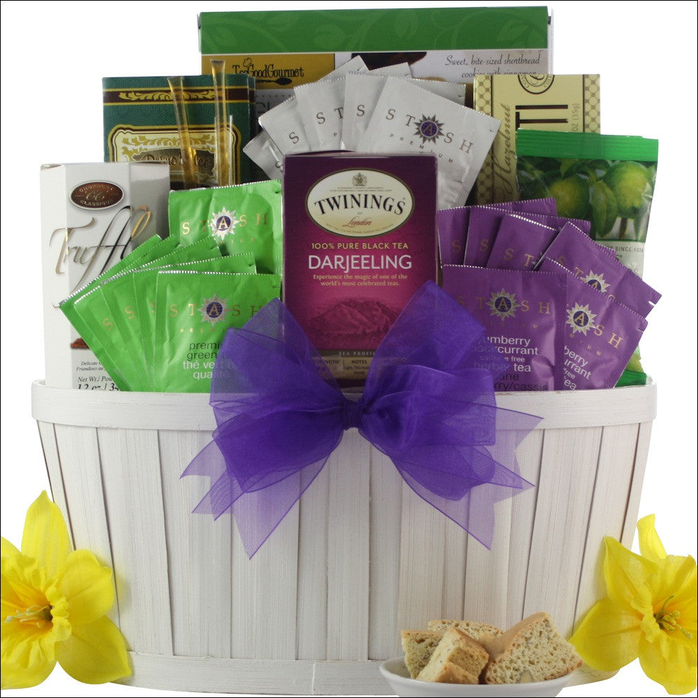 Afternoon Tea: Gourmet Tea Gift Basket
