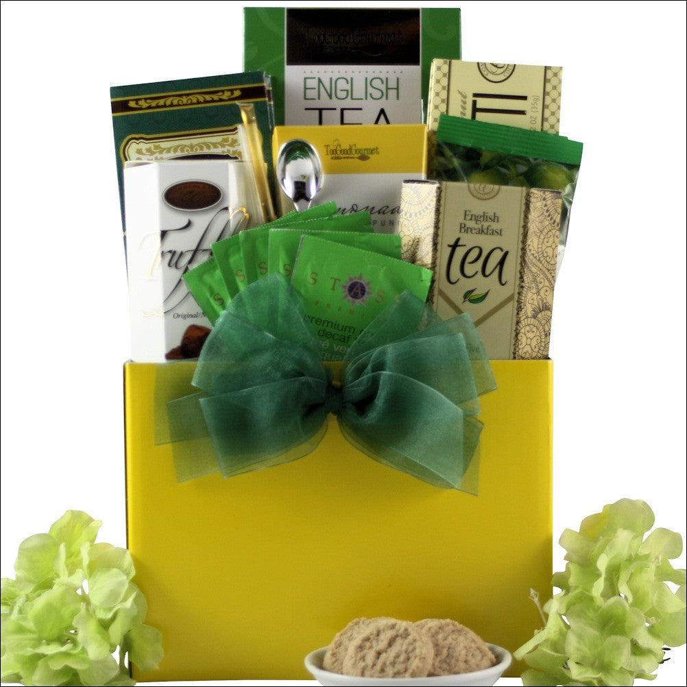 Tea Time: Gourmet Tea Gift Basket