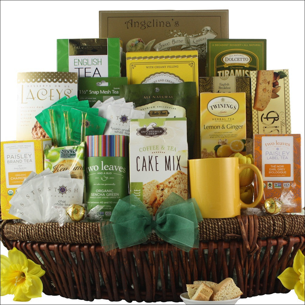 Tea Lovers Dream: Gourmet Tea Gift Basket