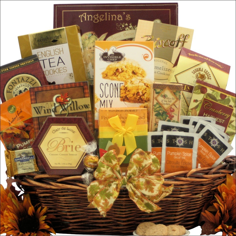 Bountiful Gourmet Wishes: Gourmet Autumn Gift Basket