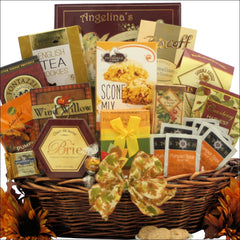 Bountiful Gourmet Wishes: Gourmet Thanksgiving Gift Basket