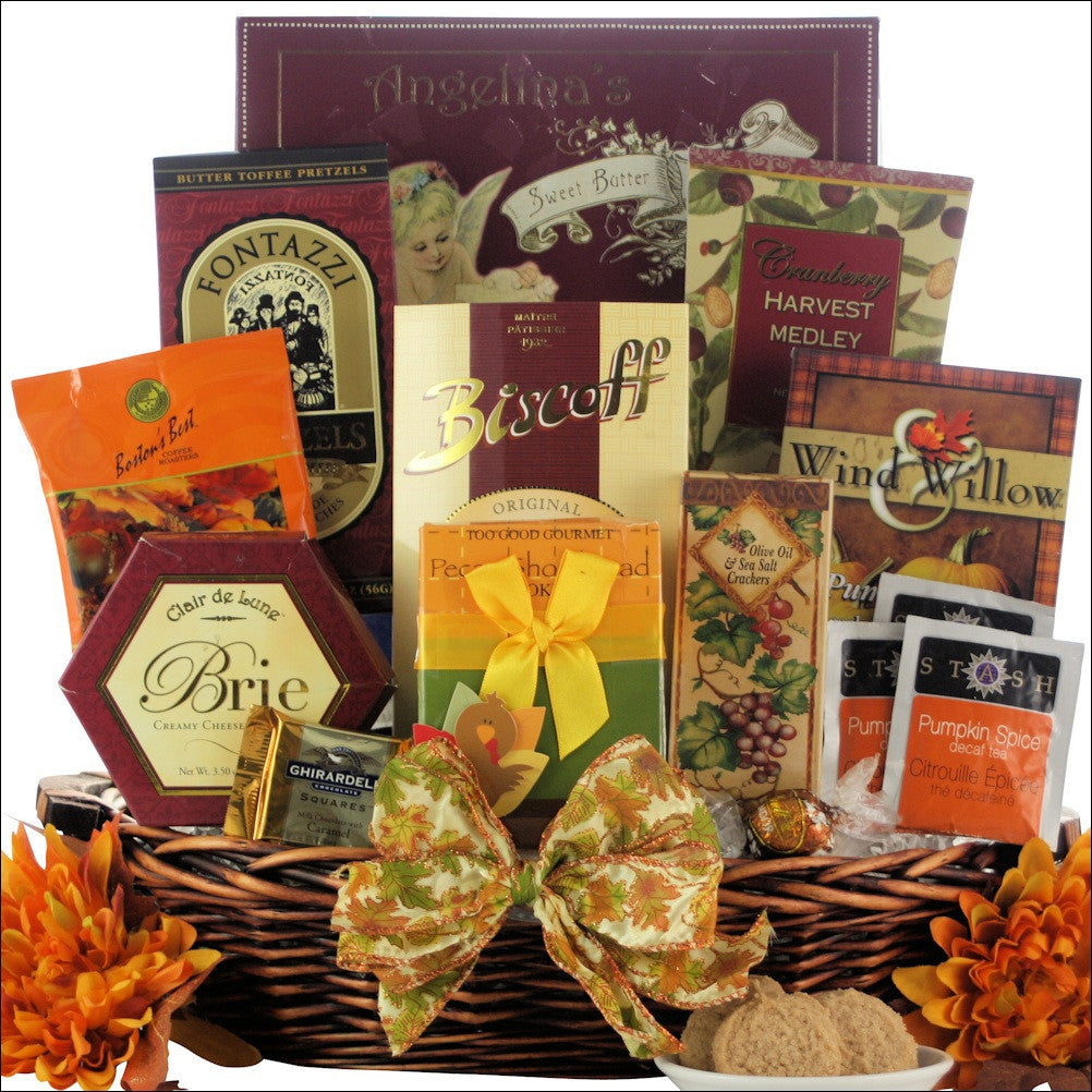 Plentiful Gourmet Wishes: Gourmet Autumn Gift Basket
