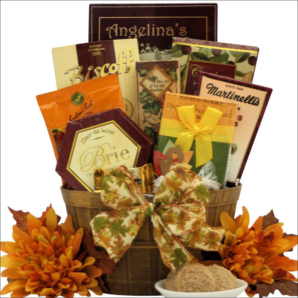 Autumn Wishes: Gourmet Autumn Gift Basket