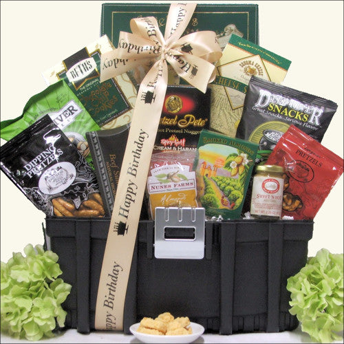 Handyman Snacks: Birthday Snack Toolbox Gift Basket