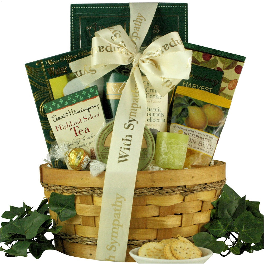 Thinking Of You: Sympathy Gift Basket