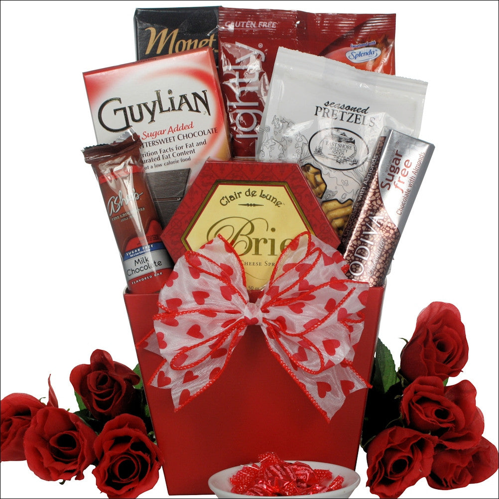 Gift baskets for women gifts for mom gift ideas for women sugar free dreams gourmet sugar free gift basket negle Gallery