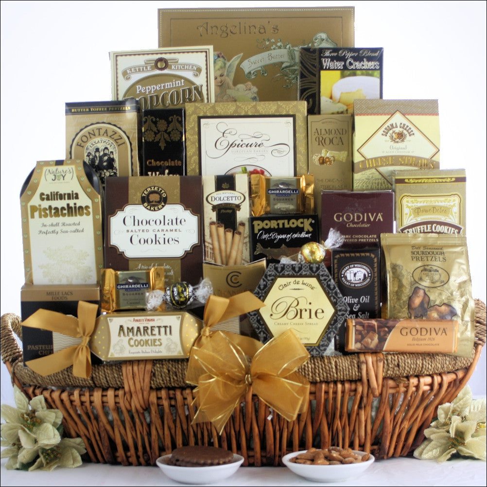 The Grand Gourmet: Gourmet Gift Basket