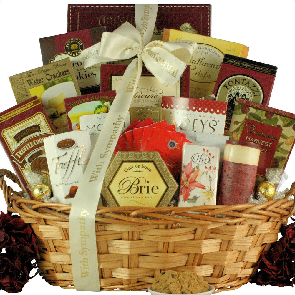 With Deepest Sympathy: Sympathy Gift Basket