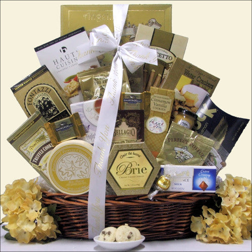 Sincere Thanks: Corporate Thank You Gift Basket