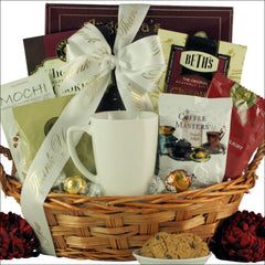 Warm Thanks: Gourmet Coffee Gift Basket