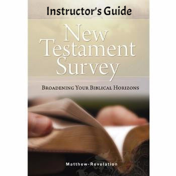 New Testament Survey Instructor's Guide  (Download)