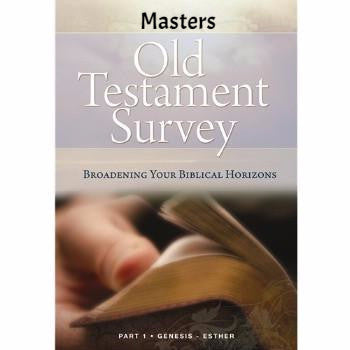 Old Testament Survey Part 1 Masters (Download)
