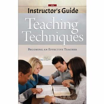 Teaching Techniques Instructor's Guide   (Download)
