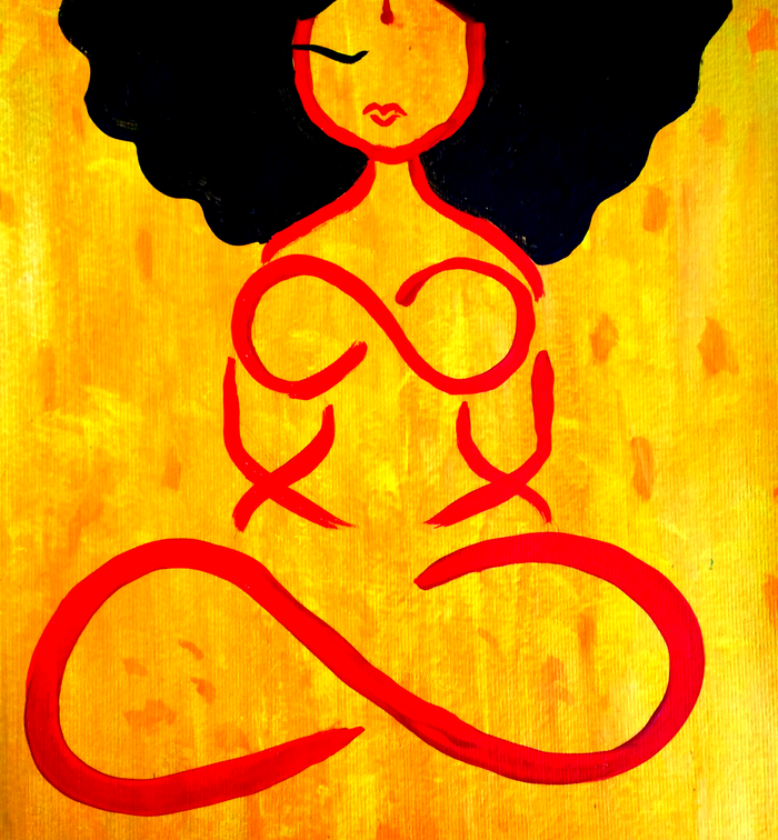 Infinite Goddess Canvas
