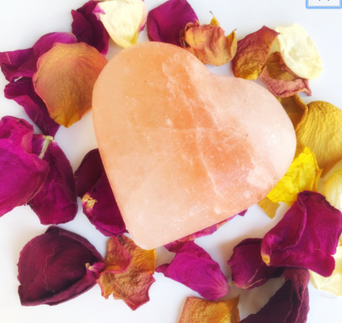 Himalayan Salt Heart Gorgeous and powerful!