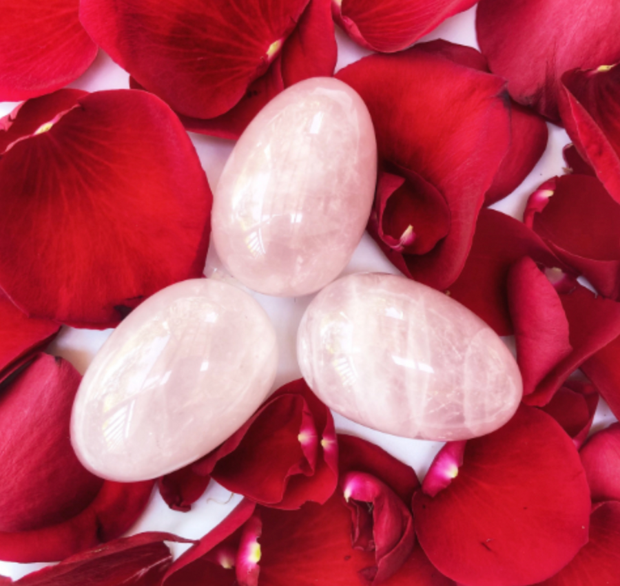 'Self Love'- Rose Quartz Yoni Egg - Namaste's Pick!