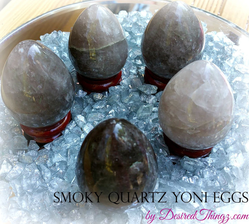 Smoky Quartz Yoni Eggs
