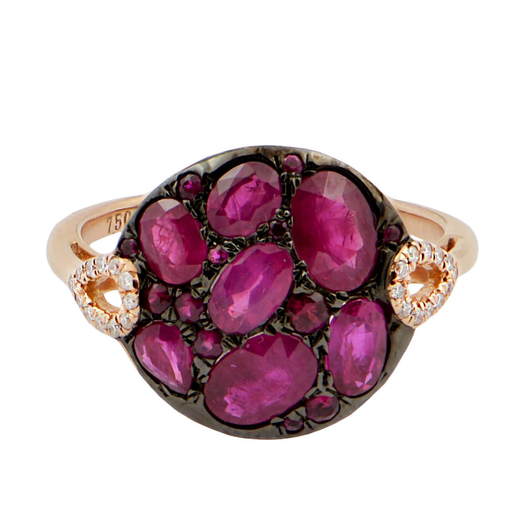 cubic ct gold pave rings halo pav white over pink zirconia sapphire in tw plated silver amp ring p