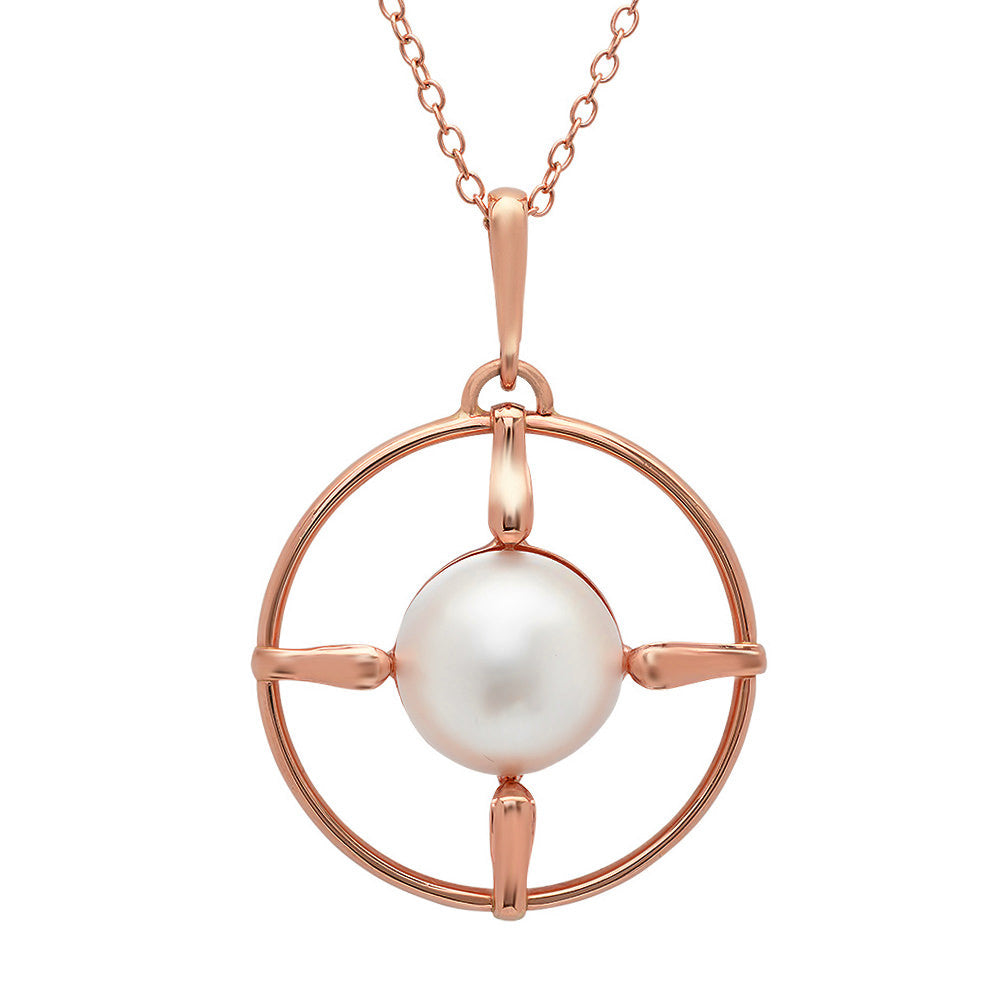 compass opal image necklace beuniki products