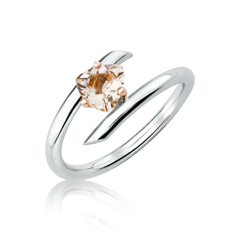 Bague Langevin Morganite