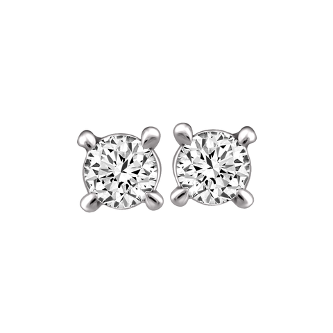 Studs diamants canadiens .10TW