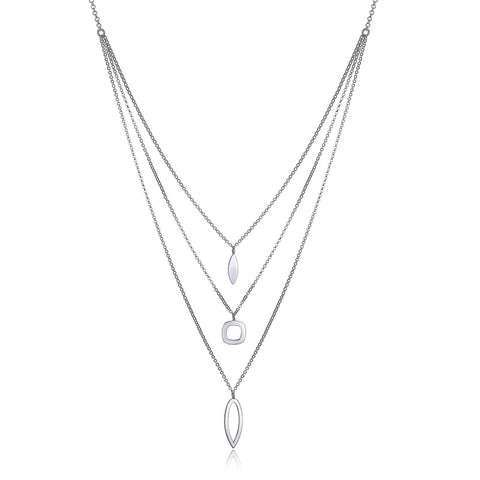 Collier ELLE 3 rangs argent sterling