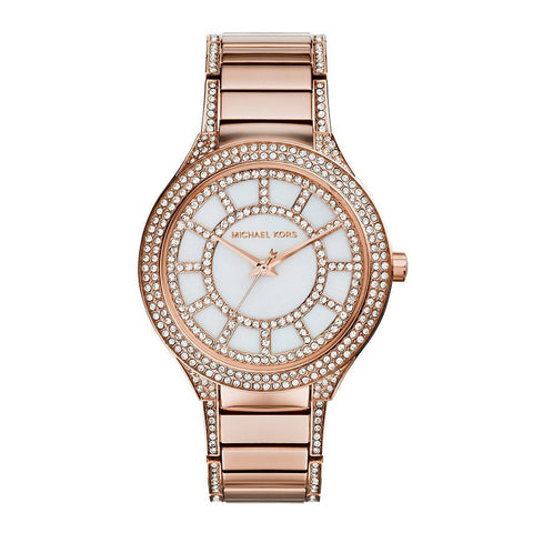 Michael Kors Pavé Rose Gold