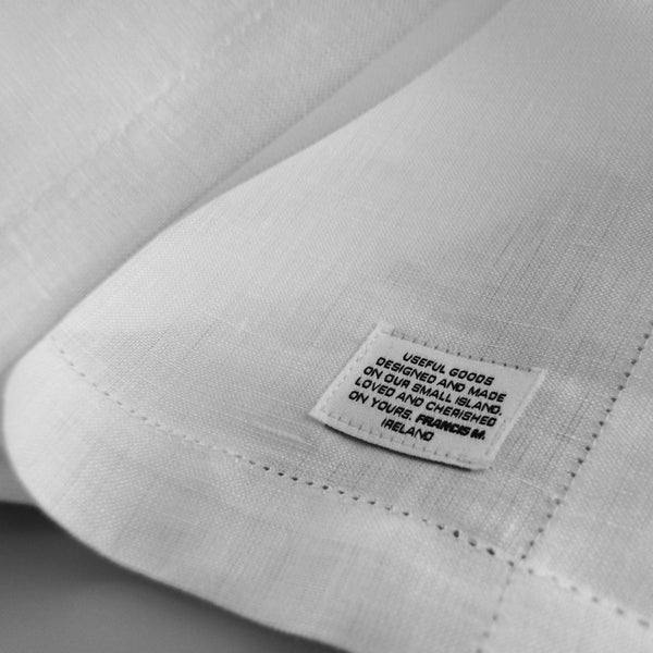 Irish linen our ethos