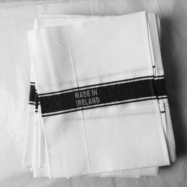 Francis M Irish Linen Tea Towels - FRANCIS M. Irish Linen