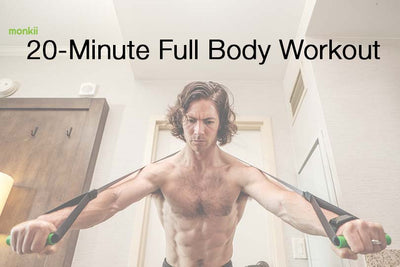 20-Minute Full-Body monkii Workout (Cardio, Legs, Chest, Back)