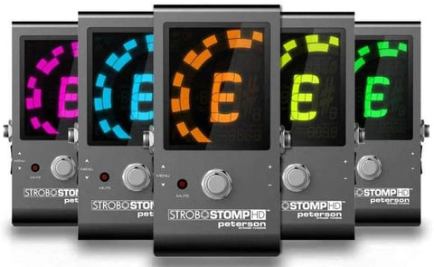 Peterson - StroboSTOMP HD - Strobe Tuner Pedal