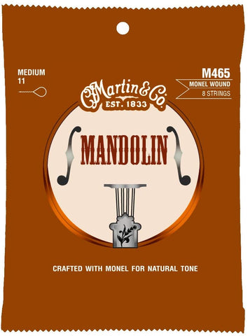 Martin - Monel Mandolin Strings 11's (M465)