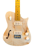 Crude Luthier - Sidewinder - Semi Hollow - Redwood/Birch Body, Maple Neck - Electric Guitar