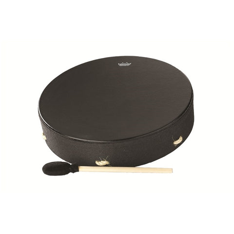 "Remo - Std 16"" Buffalo Drum Blk Earth"