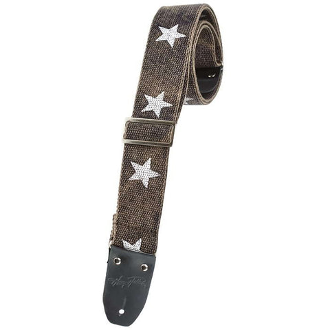 "Henry Heller 2"" heavy cotton guitar strap"