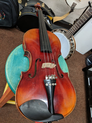 German Strad Copy - Viola 4/4 w/Case & Bow