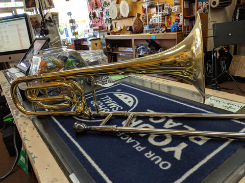 King 3b Trombone w/ F Attachment + Hard Case