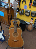 Windrose - Acoustic/Electric Dreadnaught Guitar - No Case