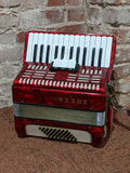 Hohner - 1970's Studiosa II Button Accordion - 2 Octave w/ Hard Case