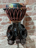 VTS - Medium Size Temple Drum - Includes Custom Stand Top