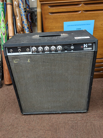 Hohner - Bass Amp - Early 80s, 1x15 speaker