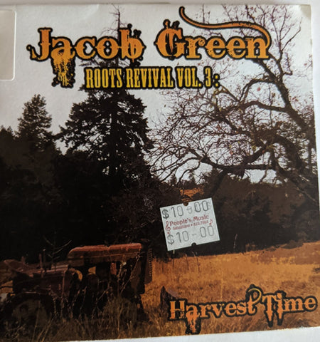 "Jacob Green - ""Roots Revival Vol 3"" - CD"