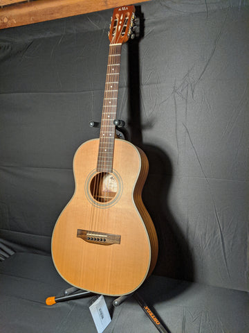 Kala - Parlor Acoustic Guitar with Hard Shell Case