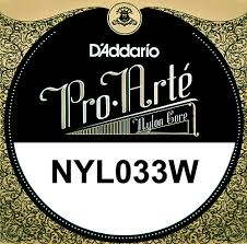 D'Addario - Pro Arte Classical String - Single D 4th