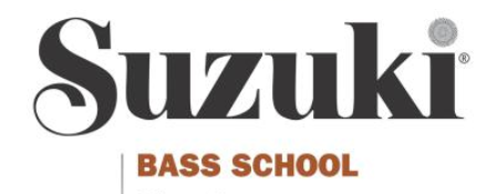 Suzuki Bass School; Volume 3 - No CD (Book)