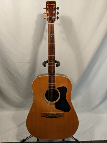 Madeira by Guild - A30M - 1972/3 - Dreadnought Acoustic w/ Hardcase