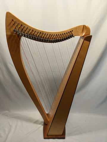 Dusty Strings - 26 String Celtic Harp w/ Cases, Music Stand and more!