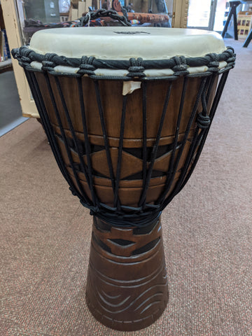 "Toca - Origins - 9"" Wood Djembe"