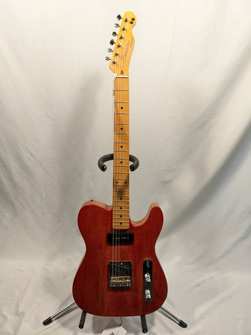 Paradise Custom Shop - Red Ash/Alder Body Telecaster Electric Guitar w/ Bag